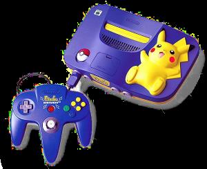 Blue_Pikachu_N64