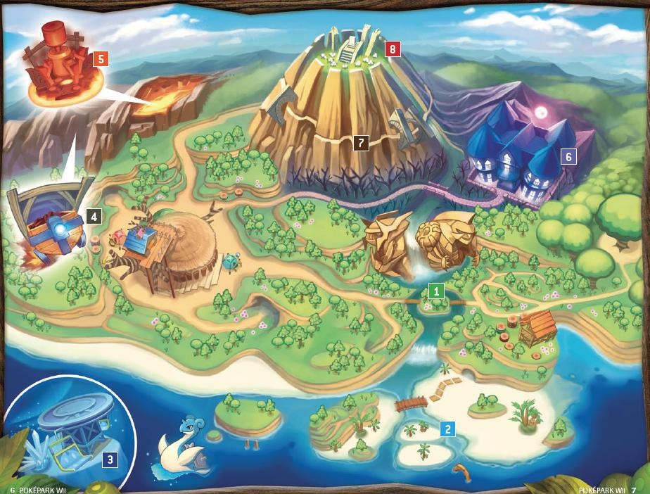 PokePark_Wii_Map