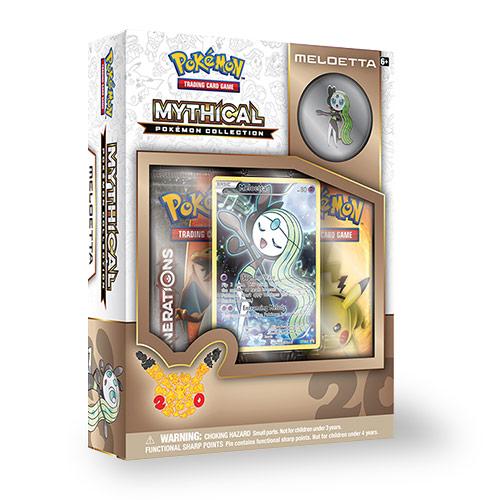 Ostatni z zestawów Pokemon Mithical Collection poświęcony Meloettcie