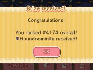 Houndoominite received