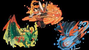 Mega Kamienie w Sun i Moon, jak i w grach Szóstej Generacji, są niezbędne dla Mega Ewolucji