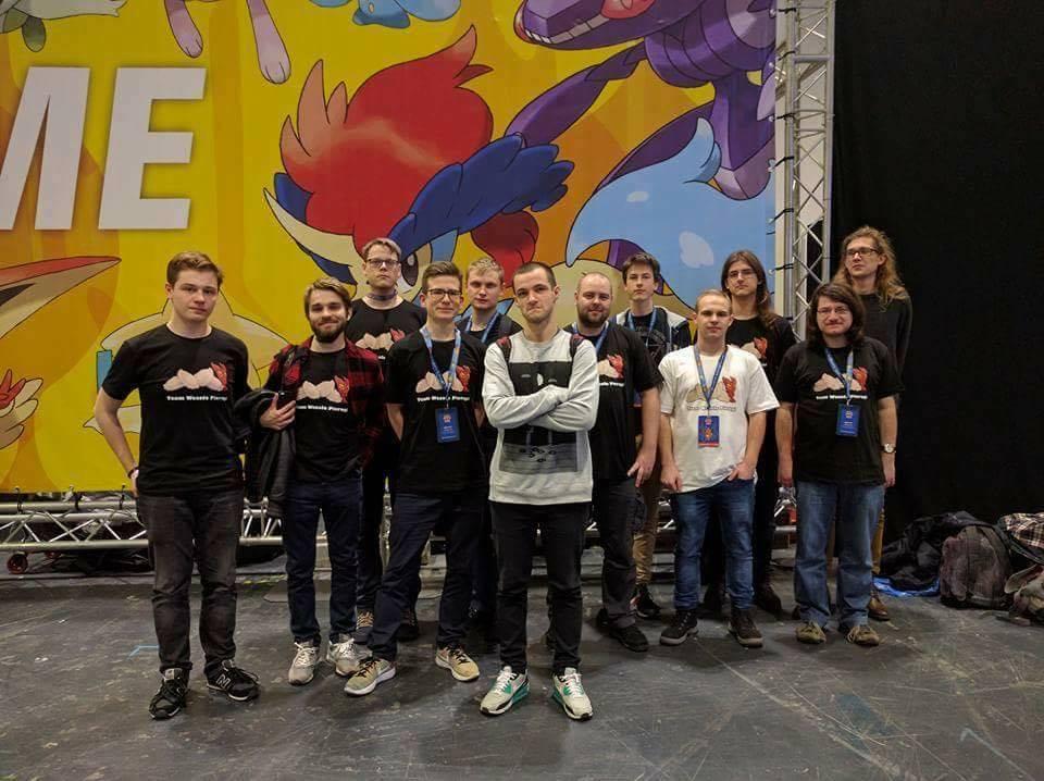 Ekipa Polaków walczących w VGC oraz TCG na Internationalsach w Londynie
