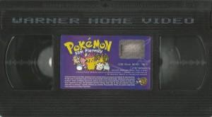 Pokemon: Film Pierwszy - kaseta