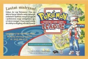 Liga Kolekcjonerskiej Gry Karcianej Pokemon - ulotka