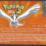 Pokemon 2 Uwierz w swoją siłę naklejka na kasecie VHS