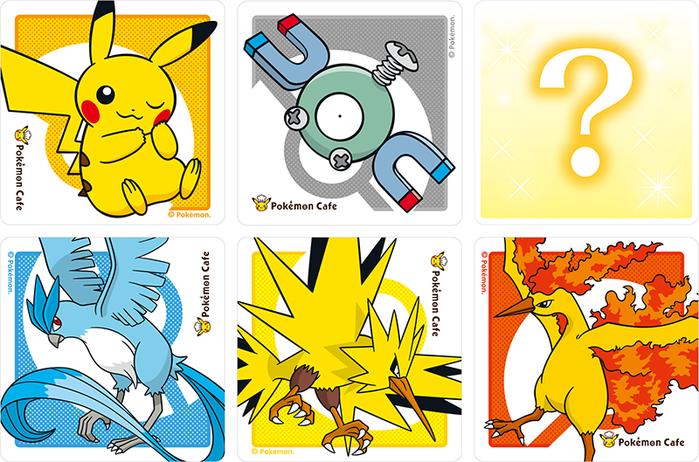 Centrum Pokémon Tokio DX i Pokémon Cafe - towar z okazji pierwszej rocznicy
