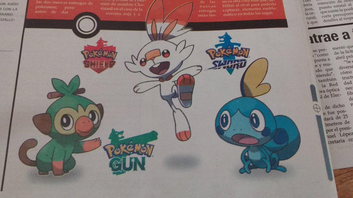 Hiszpańska gazeta lokalna ogłosiła Pokémon Gun2