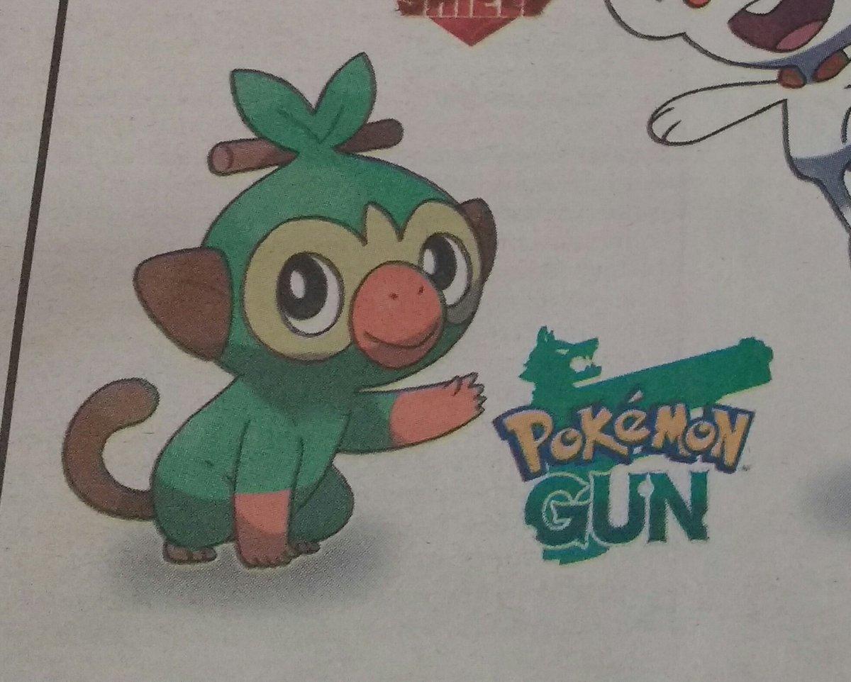 Hiszpańska gazeta lokalna ogłosiła Pokémon Gun3