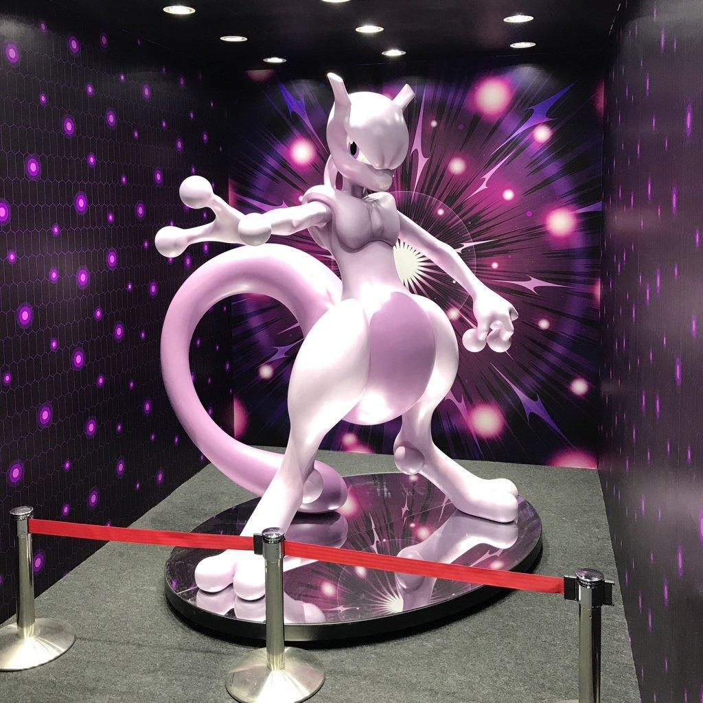 Statua Mewtwo w rozmiarze rzeczywistym w Japonii