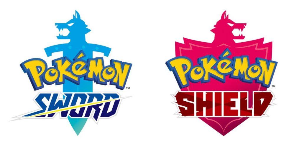 Loga ujawnionych gier 8 generacji - Pokemon Sword & Shield