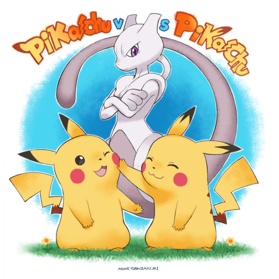 Kolejny rysownik promuje film Pokémon Mewtwo Strikes Back EVOLUTION!