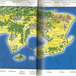 Wielka Księga Pokemon mapa Kanto